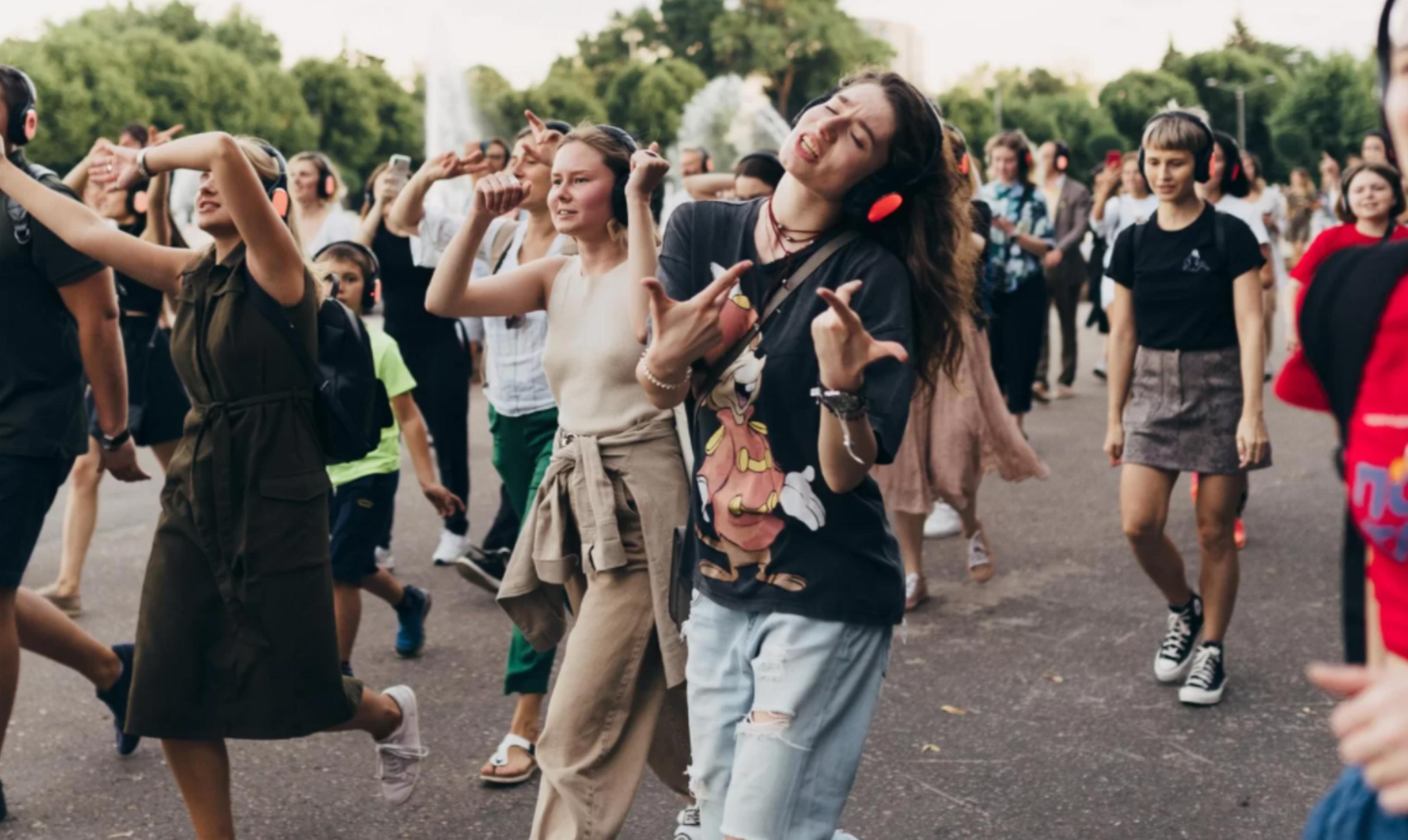 В Парке Маяковского пройдет танцевальная прогулка