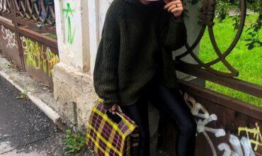 Мужской свитер в женском гардеробе