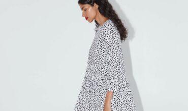 Платье в горох от ZARA: массовый тренд или промоакция