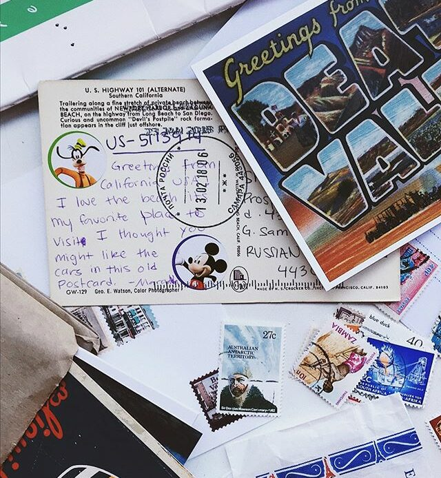 Сколько стоит отправить открытку в европу