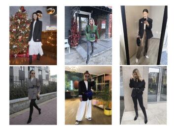 Пиджак oversize: с чем носить и сочетать