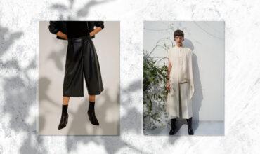 «Я достаю из широких штанин»: с чем носить кюлоты зимой