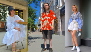 В чём екатеринбуржцы встречают аномальную жару: 15 летних образов – фоторепортаж VSetyah