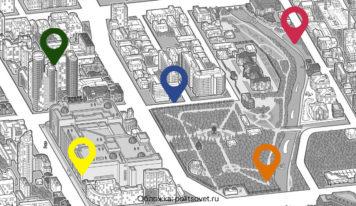 «Стенограффия» и «Яндекс.Карты» запустили маршрут по арт-объектам Екатеринбурга