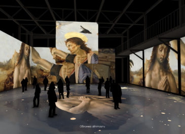 В Свердловской киностудии открыли мультимедийную выставку работ Ивана Репина