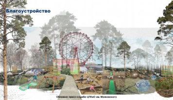 В парке Маяковского установят новое колесо обозрения