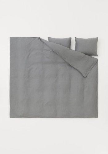 Постельное белье из льна, стоимость — 6999 рублей