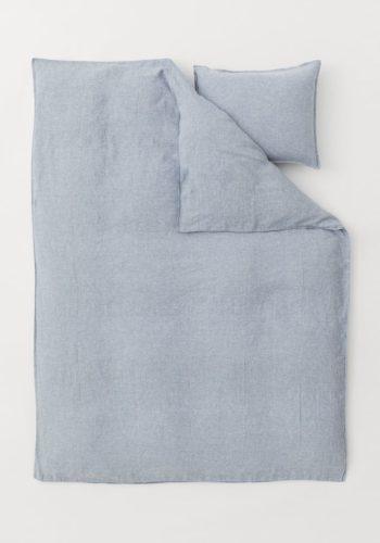 Постельное белье, лен меланж, стоимость — 5999 рублей