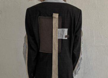 «Моя цель — создание необычных творческих вещей»: Лева Хлебников выпустил дебютные модели пиджаков