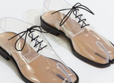 Кому нечего скрывать: Модный дом Maison Margiela выпустил прозрачные таби