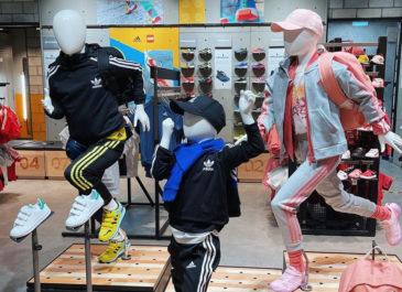 В Гринвиче открылся Addidas YOUNG ATHLETES для юных спортсменов
