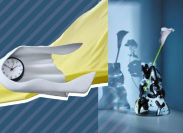 Часы Сальвадора Дали, светильники-НЛО: коллаборация IKEA и современных художников