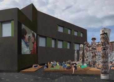 Кинотеатр под открытым небом: в центре появится новое общественное пространство