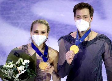 Россияне взяли золото на ЧМ по танцам на льду впервые за 12 лет