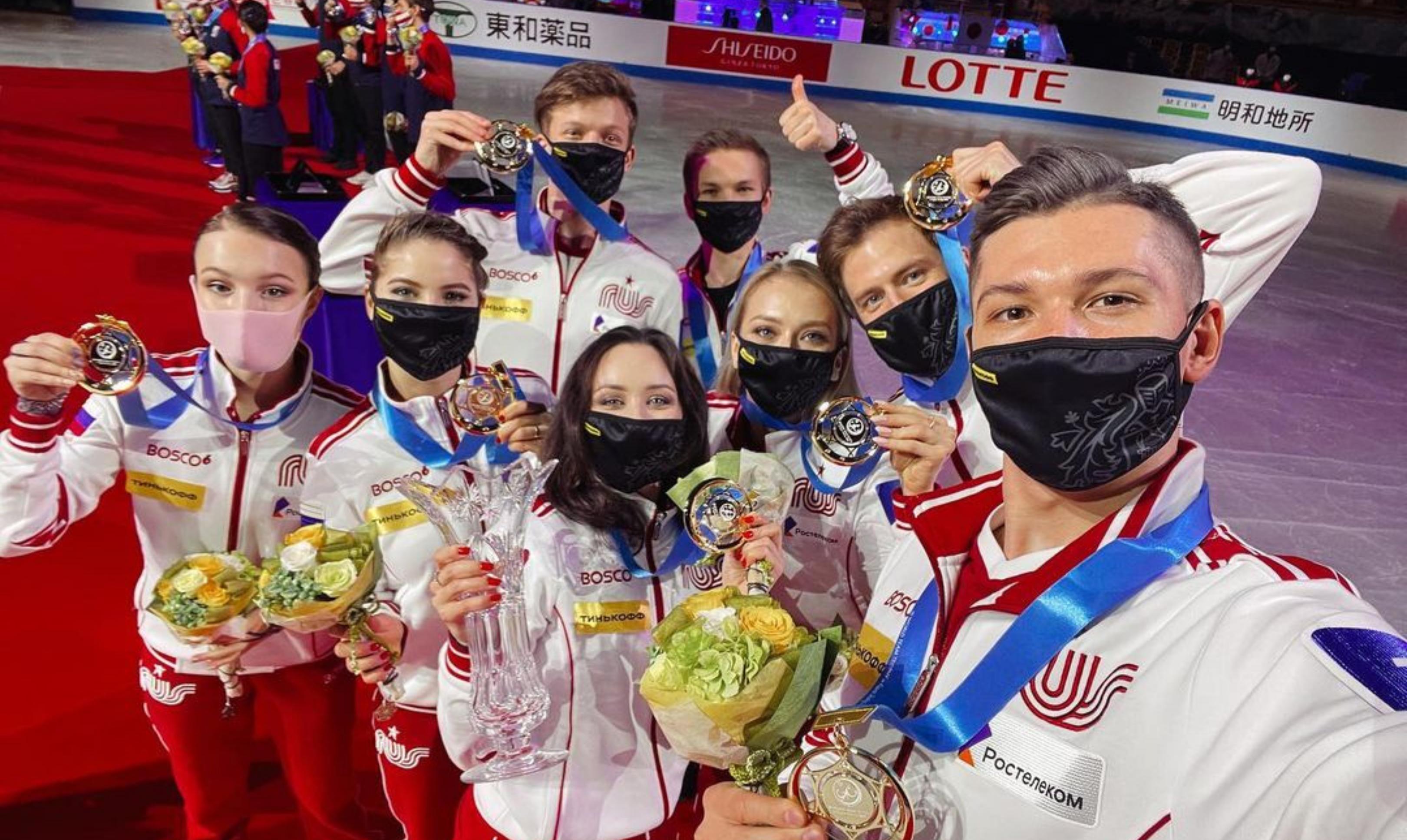 Фигурист из Екатеринбурга взял золото в командном чемпионате мира