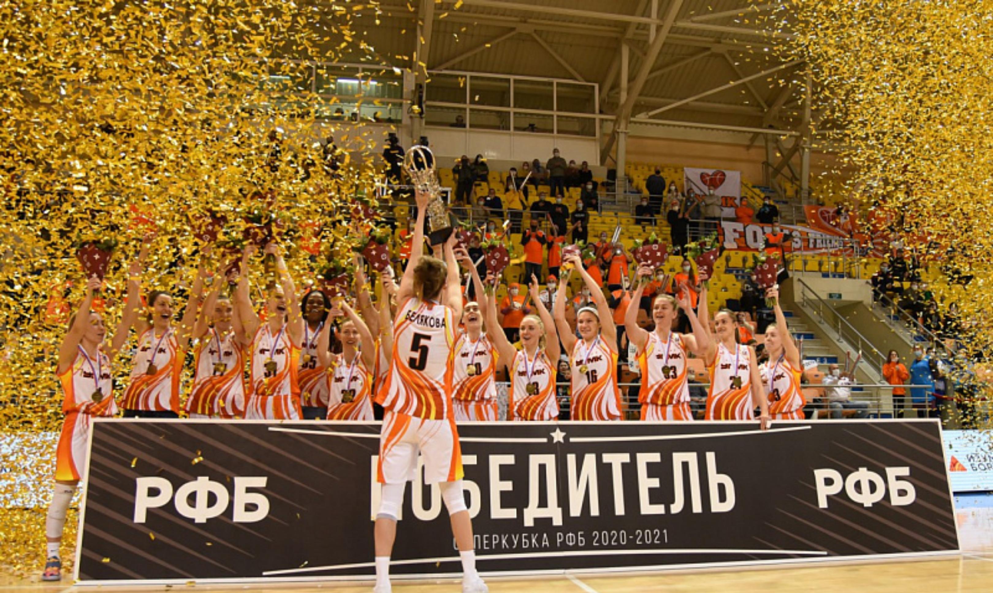 Баскетболистки УГМК стали шестикратными чемпионами Евролиги