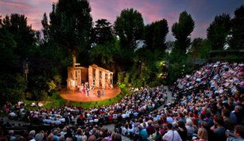 Спектакли под открытым небом начнут показывать в Екатеринбурге с 1 мая
