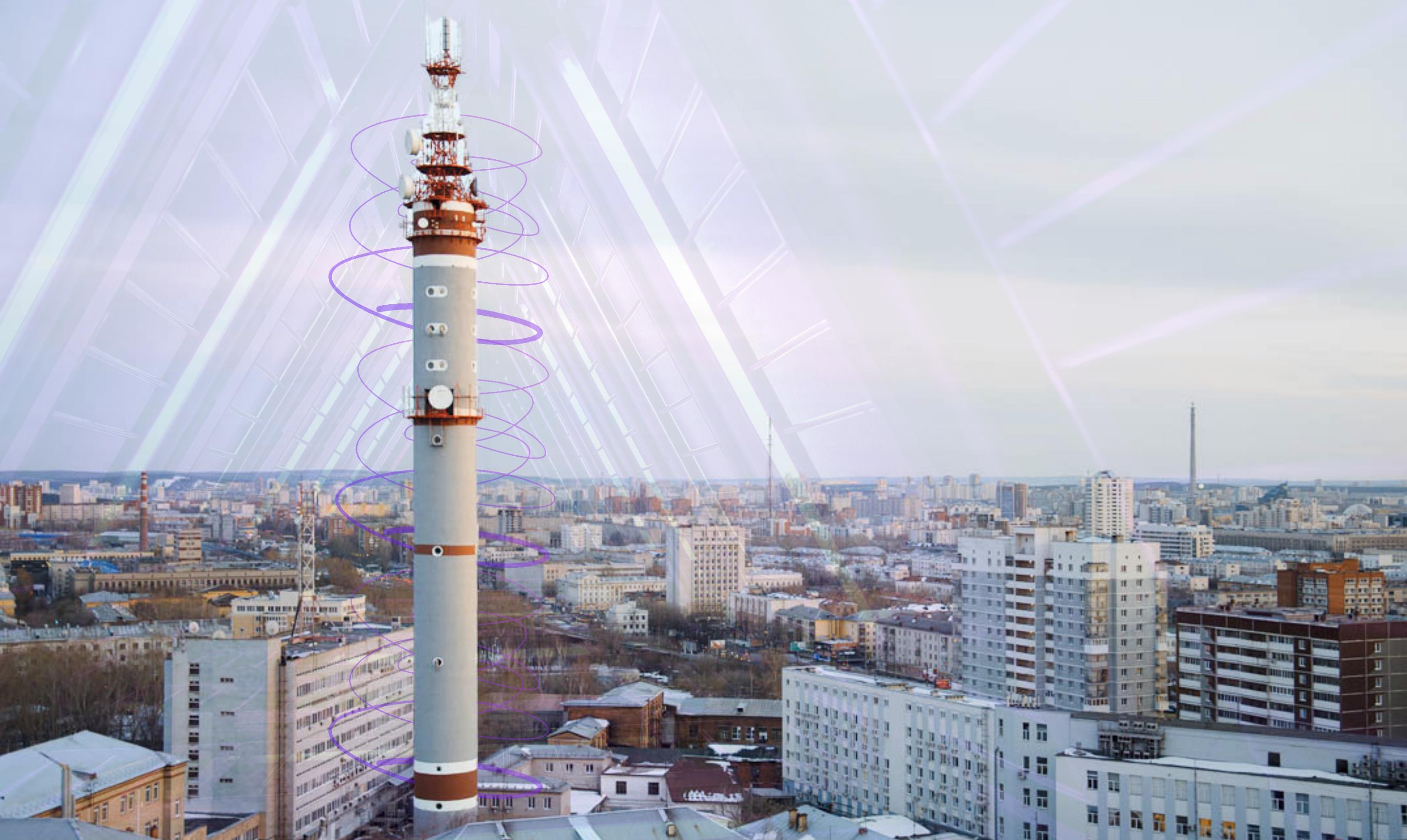 Сегодня на башне связи покажут световое шоу