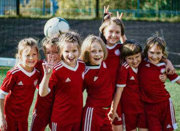 В Екатеринбурге запускаются бесплатные футбольные тренировки для девочек при поддержке adidas