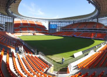 Стадион «Екатеринбург-Арена» открыт для пробежек