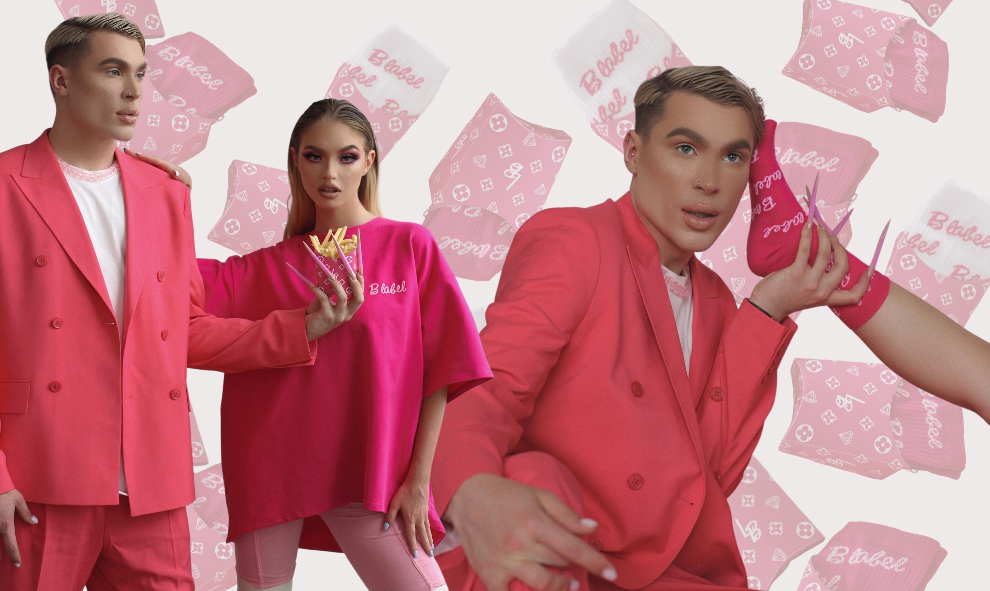 Жизнь в розовом: новый коллаб LABEL.B x DUO