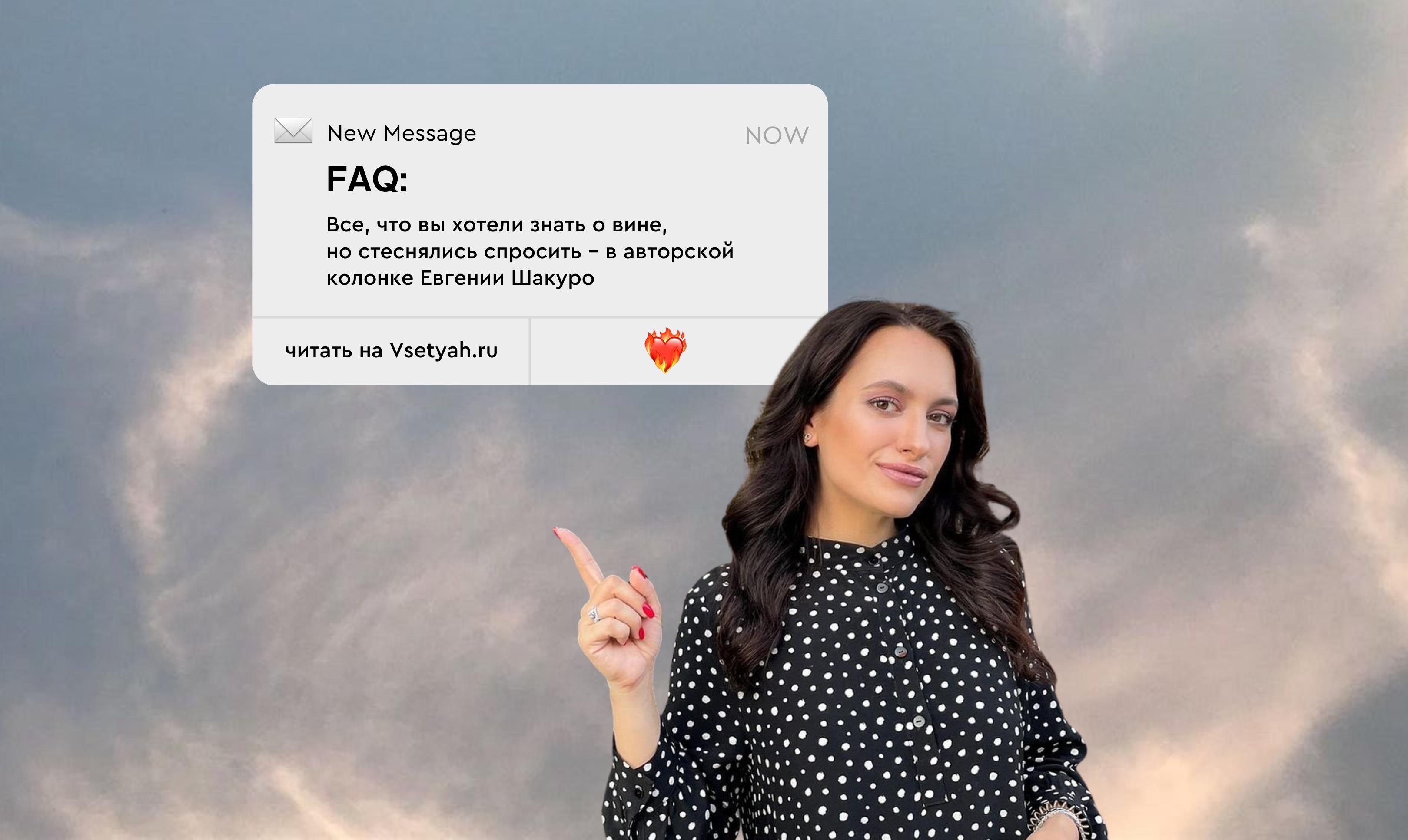 FAQ: все, что вы хотели знать о вине, но стеснялись спросить – в авторской колонке Евгении Шакуро