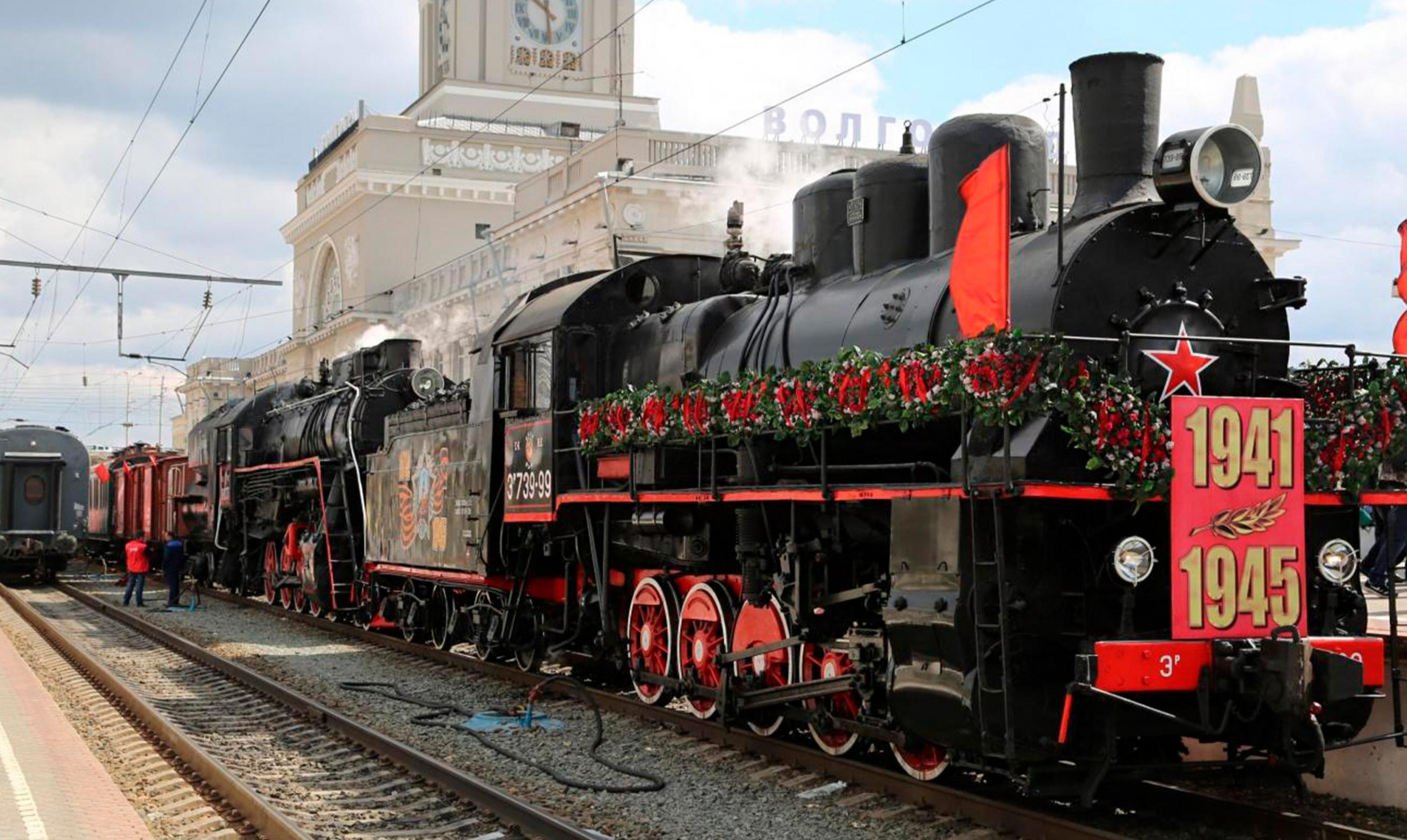 Мобильный музей «Поезд Победы» снова прибывает в Екатеринбург
