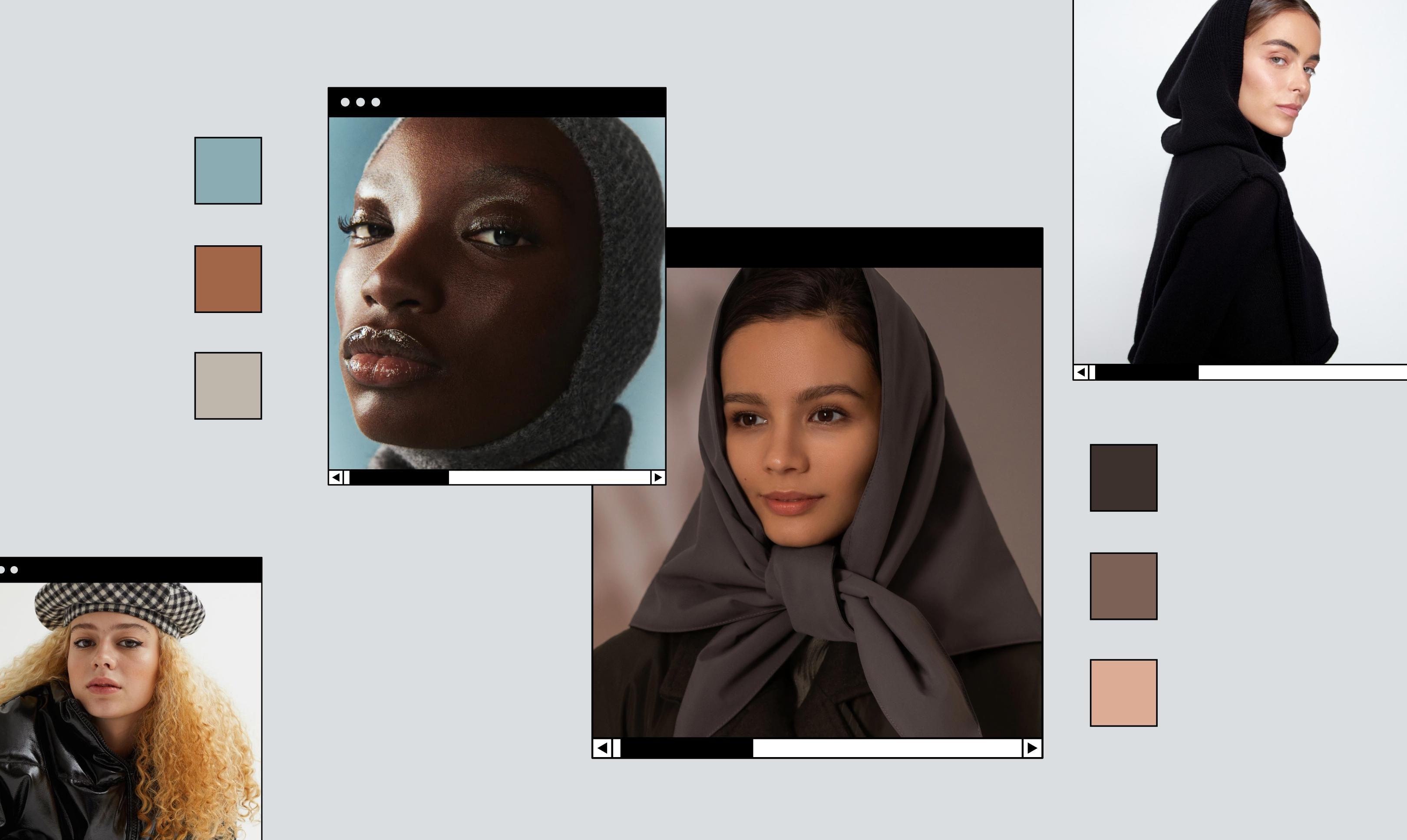 Голова в тепле: подборка актуальных головных уборов в авторской колонке стилиста Марины Братановой