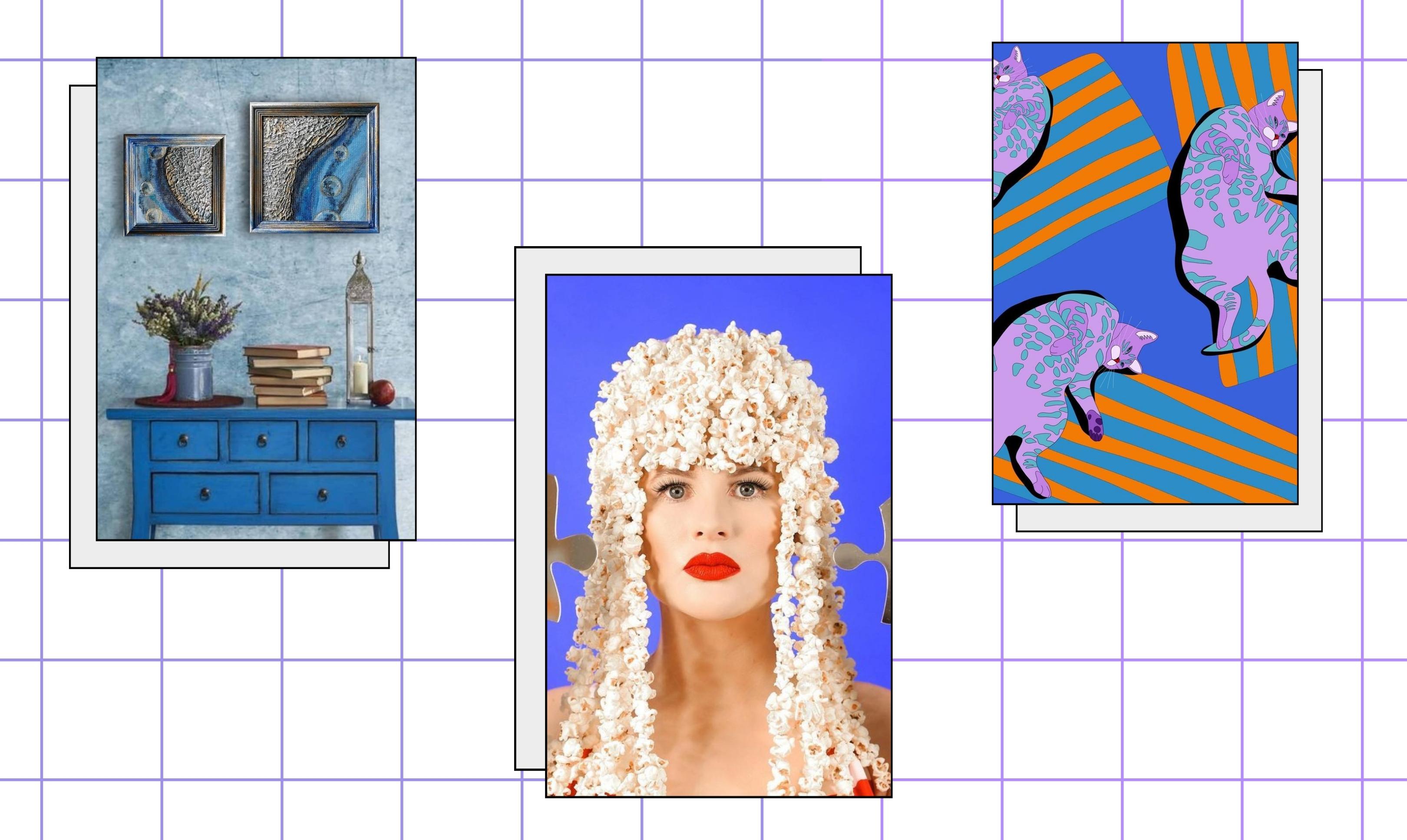 Нам красиво: самые эстетичные арт-проекты Инстаграм